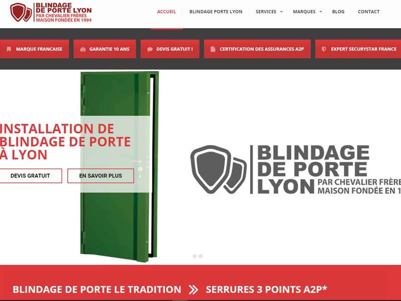 Blindage Porte Lyon-Installateur qualifié Securystar