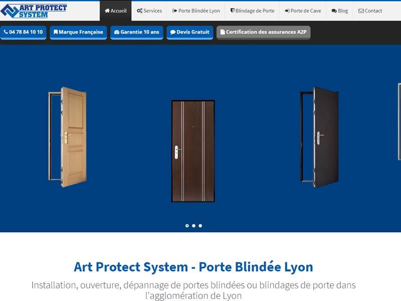 Porte blindée Lyon – Art'Protect System