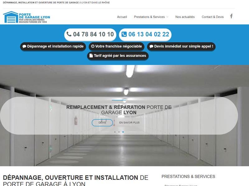 Porte de Garage à Lyon – Specialiste Hormann