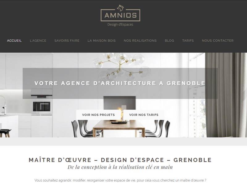 Maitrise d'oeuvre Grenoble – Amnios